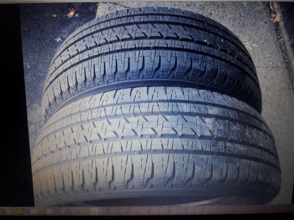 4 Like New 275-55-20 Bridgestone Dueler HL Tires * 1 Yr warranty