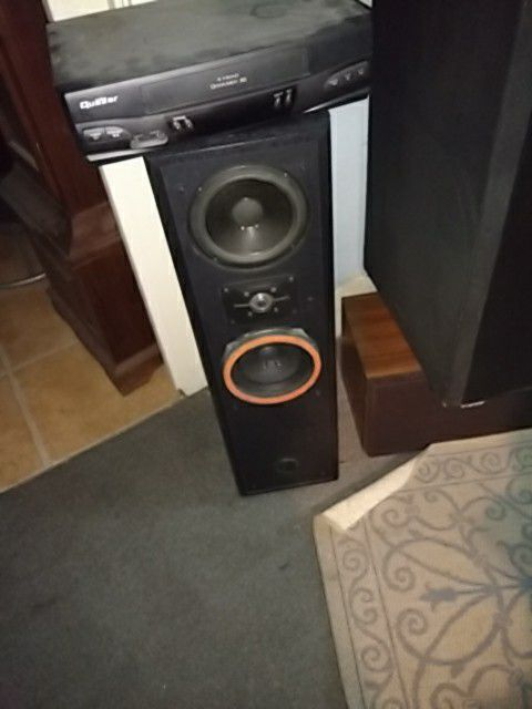 Polk Audio speakers modified
