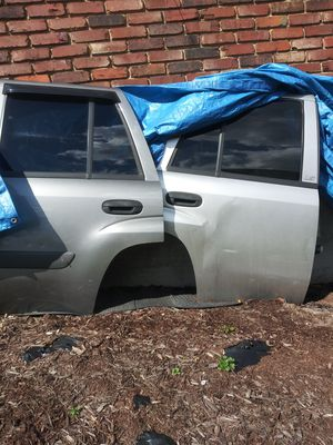 05 trailblazer chevy complete rear doors. Glass motors handles. Some rust. . for Sale in Plum, PA