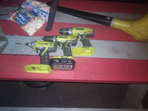 Ryobi drills for Sale in Columbus, OH