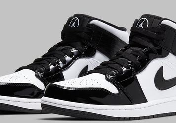 """Air Jordan 1 Mid """"All Star"""" White/Carbon Fiber Black Size 12 DS for Sale in City of Industry,  CA"""