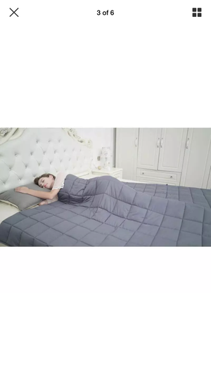 CuteKing Weighted Heavy Blanket 80''x87'' 25lbs King Bed Full Size for Couple for Sale in San Diego, CA