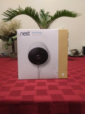 Nest HD Outdoor security Camera new for Sale in Anchorage, AK