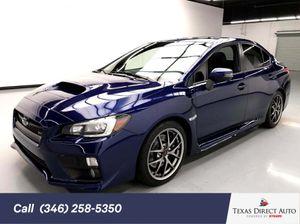 2016 Subaru WRX STI for Sale in Stafford, TX