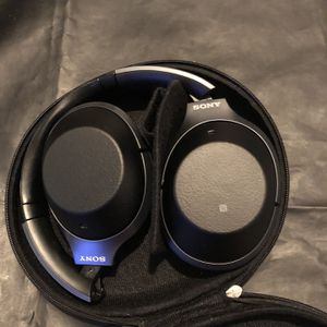 SONY WH-1000XM2 Wireless Noise-Canceling Bluetooth Headphones (Black) for Sale in Glendora, CA