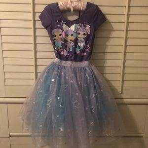 LOL purple dress size XS 4-5 for Sale in Boca Raton, FL