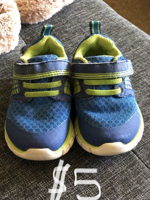 Size 4 baby toddler shoes for Sale in San Dimas, CA
