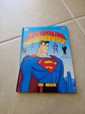 Superman The Animated Series Guide Book for Kids for Sale in Tampa, FL