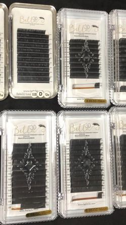 0.05 D curl 11-17mm Lash trays from Bella3dsupplies for Sale in San Jose,  CA