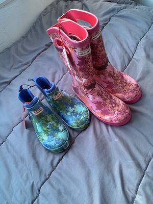 Hunter rain boots (kids) for Sale in Philadelphia, PA