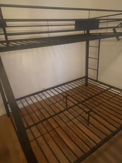 ACME Limbra Full XL over Queen Bunk Bed in Sandy Black for Sale in Queens,  NY