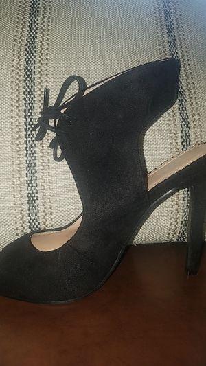 Black heels sz 7 for Sale in Raleigh, NC