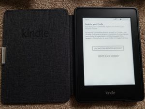 Amazon Kindle with Case for Sale in Alexandria, VA