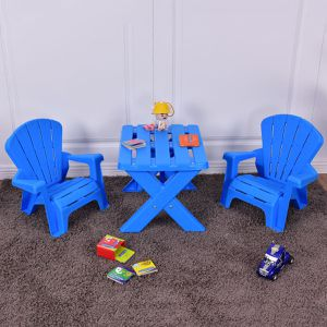 3-Piece Plastic Children Table Chair Set OP3232 for Sale in City of Industry, CA