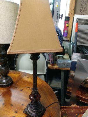 Lamp w/shade for Sale in Vero Beach, FL