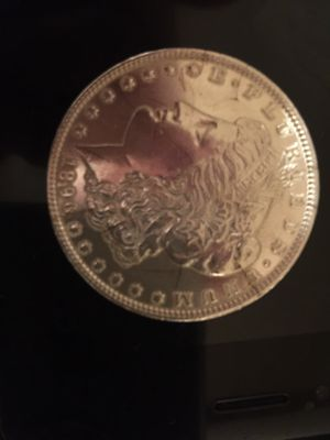 1896 lady liberty silver dollar (proof) graded extra fine this is the best I've ever seen to date it's a fine coin and a find you won't see again on for Sale in Lubbock, TX