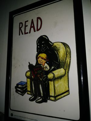 Vader reading to luke for Sale in Salt Lake City, UT