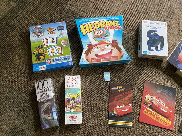 Kids puzzle & game lot