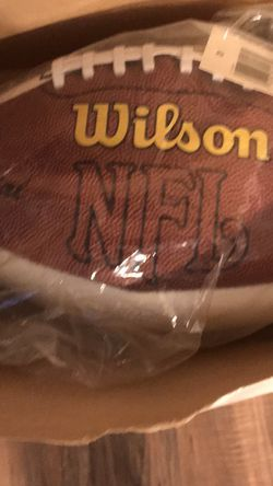 Autograph Ball NFL New No Autograph On Ball for Sale in Pittsburgh,  PA