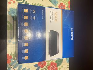 *New* Linksys N600 dual band WiFi router for Sale in Conroe, TX