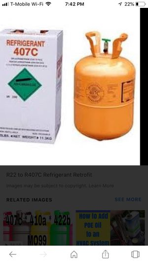 Freon 407c for Sale in FL, US