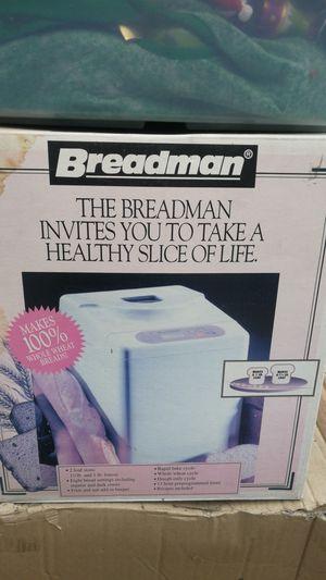 Brean new never used Breadman bread machine for Sale in Irwindale, CA