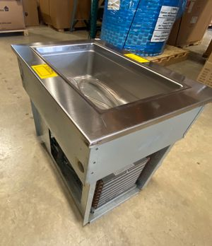 New Stainless Steel Commercial Kitchen Cold Drop In Unit. for Sale in Tamarac, FL
