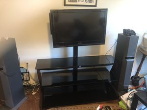 Glass TV Stand for Sale in Baltimore, MD