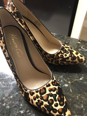 Leopard print pumps/heels - 8.5 - $50 for Sale in Alexandria, VA