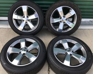 """Jeep Grand Cherokee 20"""" Sport Factory OEM Wheels Rims Tires 20 inch Dodge Durango for Sale in Chicago, IL"""