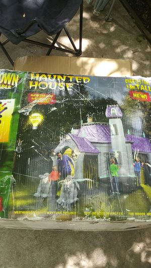 Inflatable haunted house for Sale in Fort Worth, TX