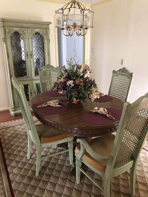 Stanley 7-piece dining room set for Sale in Lorton, VA