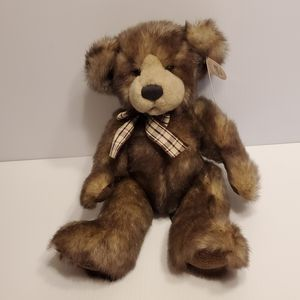 "Russ Berrie Capuccino Plush Sfuff animal toy Teddy Bear Bears from the past. 14"" tall. New for Sale in Saratoga, CA"