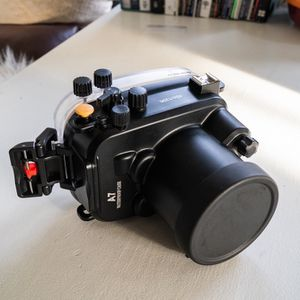 model name / number: Meikon A7/A7s/A7r FE28-70 Meikon 40m/130ft Underwater Waterproof Camera Housing Kit for Sale in Seattle, WA