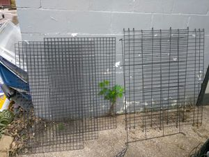 LARGE DOG CRATE GATES. READ DETAILS for Sale in St. Louis, MO