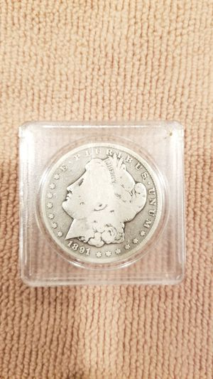 1891 cc Morgan silver dollar for Sale in Marysville, WA