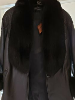 Leather & Fur Coat for Sale in Norman,  OK