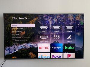 "TCL 55"" R625 4K QLED Dolby Vision HDR Roku TV (2019 Model) for Sale in Torrance, CA"