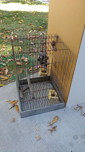 Parrott cage for Sale in Oakley, CA