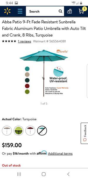 Umbrela de patio 9ft for Sale in Anaheim, CA