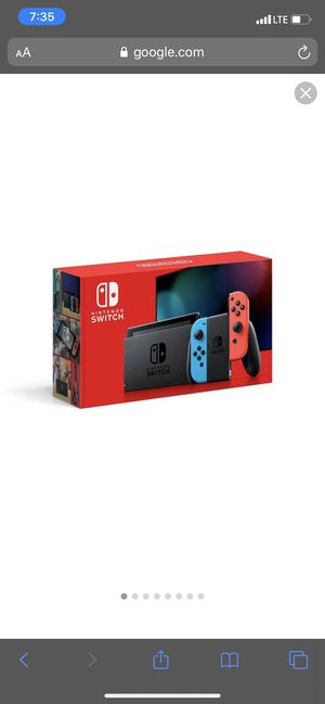 Brand new never opened Nintendo switch $400 for Sale in Dallas, TX