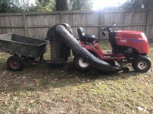 Lawn Tractor Toro LX 423 w/ bagger and trailer for Sale in Virginia Beach, VA
