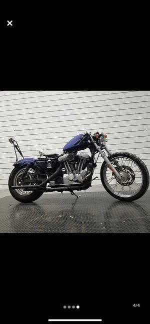 2002 Harley Davidson Sportster 1200 Custom for Sale in Staten Island, NY