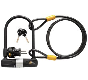 Bike/ Bicycle U Lock with Cable (Brand New) for Sale in Manchester, CT