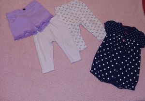 70 PIECES BABY GIRL CLOTHES SIZE 6-12 M for Sale in Miami, FL