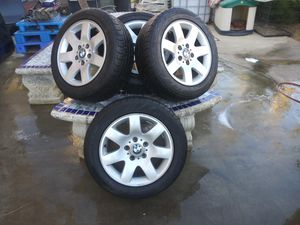 BMW RIMS SET OF 4 SIZE 205/55R16 for Sale in Riverside, CA