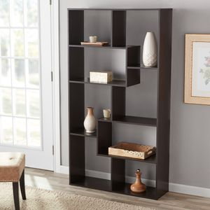 Mainstays 8-Cube Bookcase, White or Espresso for Sale in Houston, TX