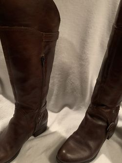 Women's leather calf high boots by Audrey Brook Size 8M for Sale in Oklahoma City,  OK