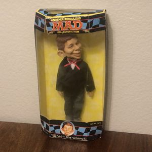 """1998 Vintage Alfred E Neuman Mad Magazine 11"""" Doll Action Figure for Sale in Chula Vista, CA"""