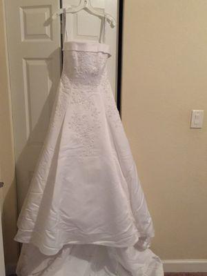 Strapless Wedding Dress for Sale in Miami, FL
